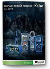 Catálogo de productos Kaise equipos de medicion y control. Junio 2020.