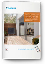 Tarifa Daikin Calefacción 2020-2021