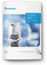 Tarifa Daikin Climatización abril 2021